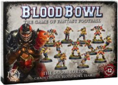 (200-47) The Doom Lords - Chaos Chosen Blood Bowl Team