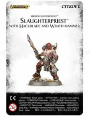 Slaughterpriest with Hackblade and Wrath-hammer