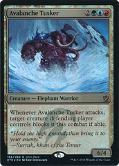 Avalanche Tusker - Khans of Tarkir Intro Pack Alternate Art Foil Promo