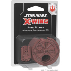 SWZ09 X-Wing (2nd Edition): Rebel Alliance Maneuver Dial Upgrade Kit