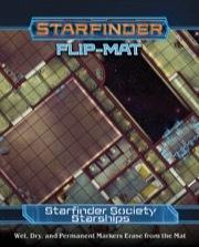 (PZO7318) Starfinder Flip-Mat: Starfinder Society Starships
