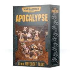 WARHAMMER 40,000 Apocalypse 25mm Movement Trays
