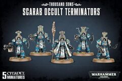 (43-36) Thousand Sons Scarab Occult Terminators