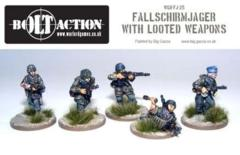 German: Fallschirmjager with Looted Weapons (5)