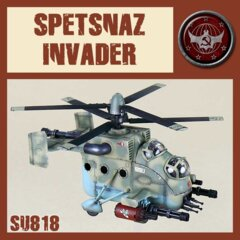 SU818  SSU  SPETSNAZ ASSAULT  HELICOPTER / INVADER