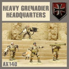 AX140 HEAVEY GRENADIER HEADQUARTERS