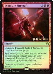 Exquisite Firecraft - Foil - Prerelease Promo