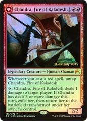 Chandra, Fire of Kaladesh // Chandra, Roaring Flame - Foil - Prerelease Promo