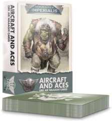 (500-05)  Aircraft and Aces: Ork Air WAAAGH! Cards