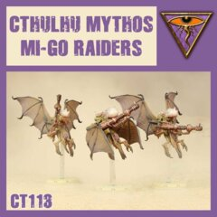 CT113 CTHULHU MYTHOS MI-GO RAIDERS