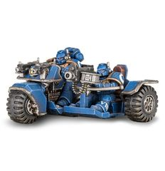 (48-20) Space Marine Attack Bike