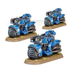 (48-11) Space Marine Bike Squad