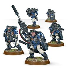 (48-29) Space Marine Scouts with Sniper Rifles