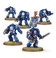 (48-10) Space Marine Terminator Squad