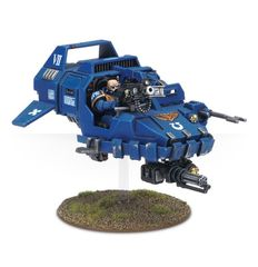 (48-13) Space Marine Land Speeder