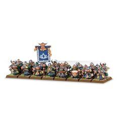 (84-08) Dwarf Thunderers / Quarrellers