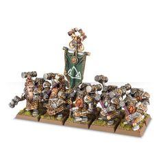 (84-07) Dwarf Hammerers / Longbeards