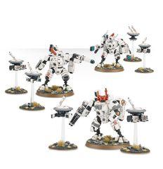 (56-07) XV8 Crisis Battlesuit Team