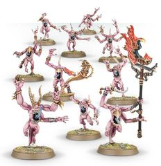 (97-12) Pink Horrors of Tzeentch