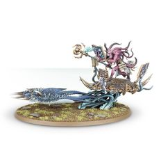 (97-20)  Herald of Tzeentch on Burning Chariot