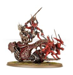 (97-22) Blood Throne of Khorne / Daemons Of Khorne Skull Cannon