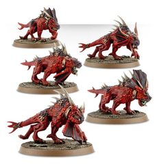 (97-63) Chaos Daemons Flesh Hounds of Khorne
