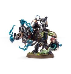(50-11) Ork Big Mek with Shokk Attack Gun