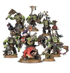 (50-33) Warboss Grukk's Boss - Mob
