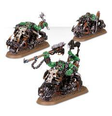 (50-07)Ork Warbiker Mob