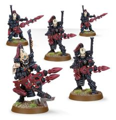 (46-42) Eldar Dark Reapers Aspect Warrior Squad