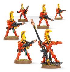 (46-46) Eldar Fire Dragon Aspect Warrior Squad