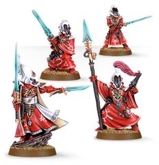 (46-40) Eldar Farseer and Warlocks