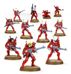 (46-09) Eldar Guardian Squad