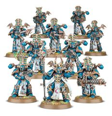 (43-35 )  Thousand Sons Rubric Marines