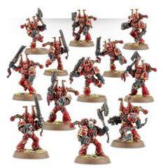(43-10) Chaos Space Marines Khorne Berzerkers