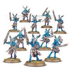(43-40) Thousand Sons Tzaangors