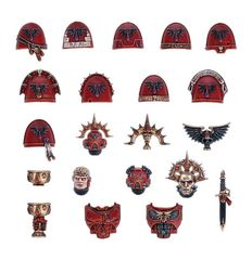 (41-80) Blood Angels Upgrades