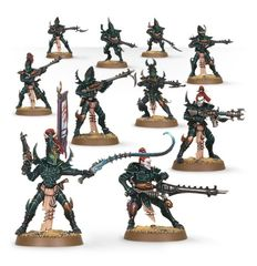 (45-07) Dark Eldar Warriors