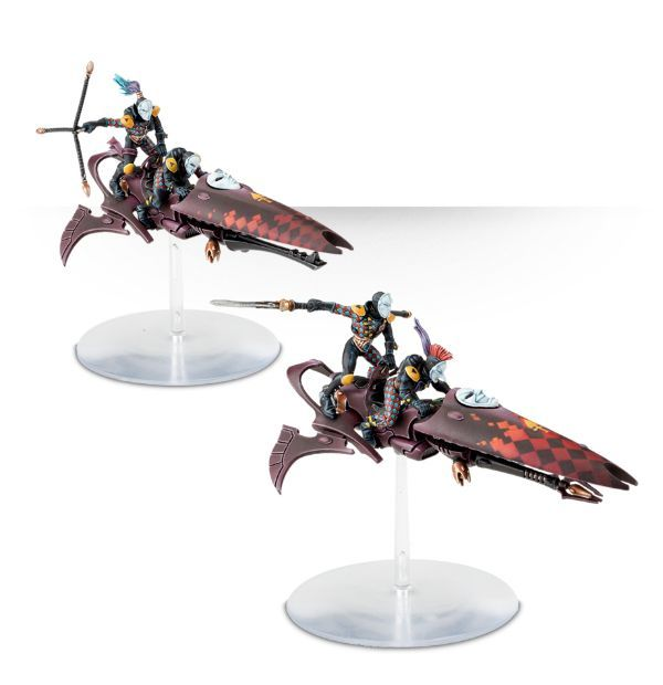 Warhammer 40,000 GW-58-10 Harlequin-Troupe