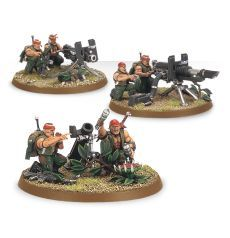 (42-09) Imperial Guard Catachan Heavy Weapons squad