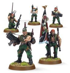 (42-10) Imperial Guard Catachan Command Squad