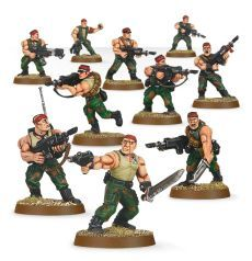 (42-06) Imperial Guard Catachan Jungle Fighters