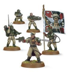 (47-09) Imperial Guard Cadian Command Squad