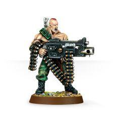 (42-00) Imperial Guard Catachans Sergeant Harker