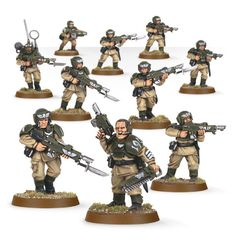 (47-17) Imperial Guard Cadian Shock Troops