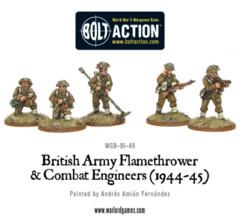 British Flamethrower & Combat Engineers