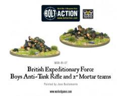 British: Early War Anti-Tank Rifle Team