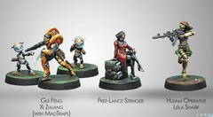 (280011)  Dire Foes Defiant Truth Mission Pack 6