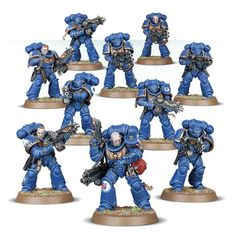 (48-75) Primaris Intercessors x10