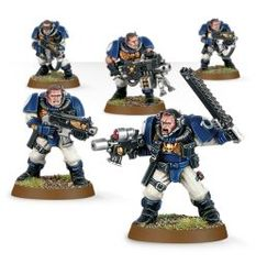 (48-16) Space marine Scout Squad